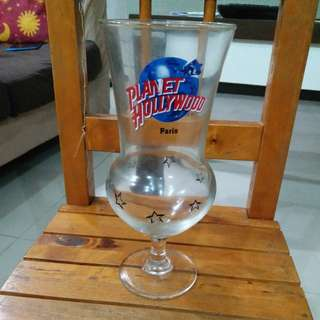 Planet Hollywood beer cup from Paris