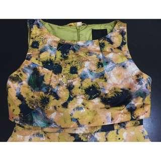 (Repriced) MCGINN Floral Dress