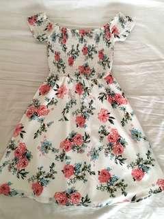 Dotti Off Shoulder Floral Dress