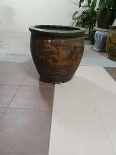 双龙吐珠 pot