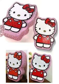DIY Hello Kitty Body Diamond Box