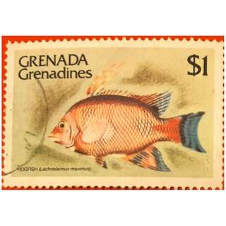 加勒比海群島Grenada Grenadines 紀念郵票