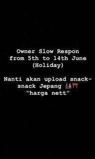 Slow Respon