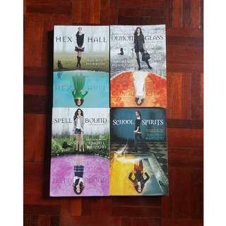 Hex Hall series by Rachel Hawkins