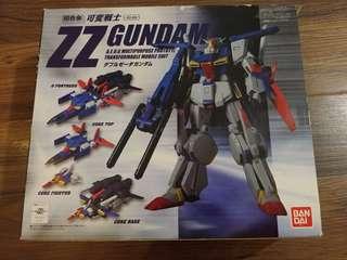 ZZ Gundam 高達 超合金 GD-60