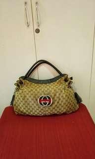 Gucci Vintage hobo bag with tassels. Large