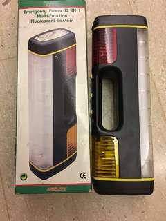 Emergency Power 12 in 1 Fluorescent Lantern