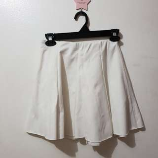 People Are People White Skirt