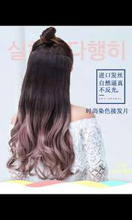 BEST SELLER!😍 Preorder' korean wavy clip on hair extension * waiting time 20 days after payment is made *chat to buy to order