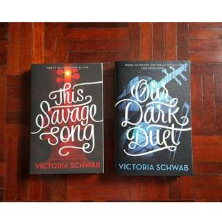 This Savage Song & Our Dark Duet by Veronica Schwab