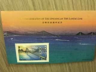經典系列第10號郵票小型張$5 x 500 張 classics series #10 stamp sheetlets