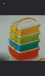 Tupperware Food Container Set