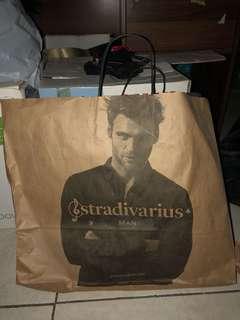 Paperbag Stradivarius Man