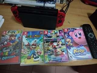 Nintendo new 3ds &Nintendo switch Mario edition