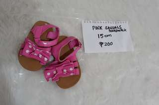 Boardwalk pink sandals