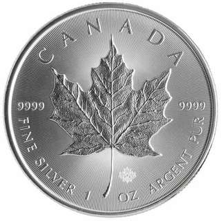 Canadian Silver Maple 2016 - 1 oz (1 tube of 25)