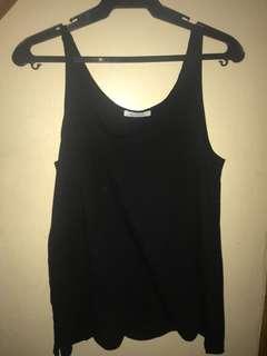 Zara black sleeveless