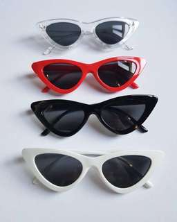 Sunnies Specs Retro Vintage with case inspired by Kathryn Bernardo