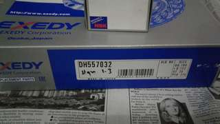 Exedy clutch set dan bearing myvi 1.3