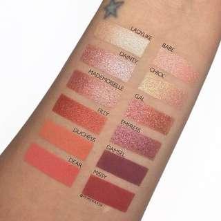 🚚 Colourpop Fem Rosa She Eyeshadow Palette