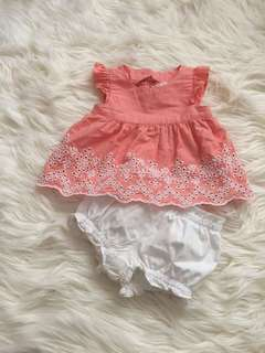 Original Gymboree Baby Girl Set 3-6M