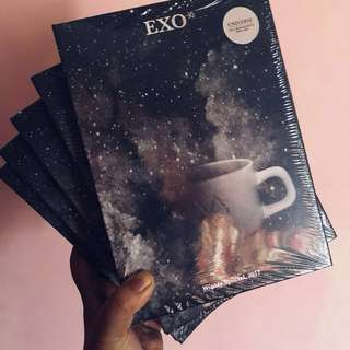 [STOCK SALE] EXO UNIVERSE WINTER ALBUM☕️❄️