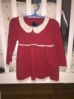 Baby dress long sleeve