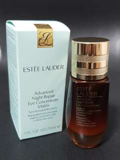 Estee Lauder Advanced Night Repair Eye Concentrate Matrix 15ml full size brand new in box! Anr Serum cream