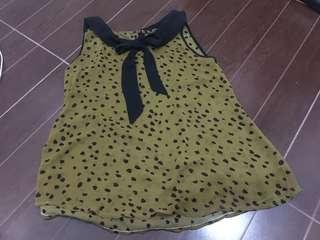 Chiffon korean blouse