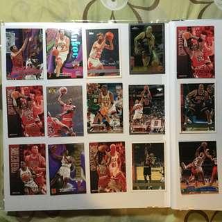 NBA CARD Chicago Bulls Jordan 公牛隊