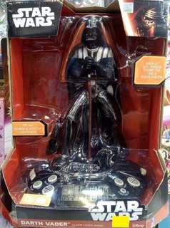 (限時折扣)星球大戰黑武士鬧鐘收音機  Star Wars Darth Vader Figure Alarm Clock Radio