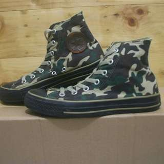 Converse all star chuck Taylor high ox olive camo shoes original