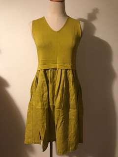 🚚 Knit with linens dress