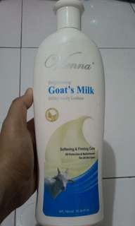 Lotion goat milk
