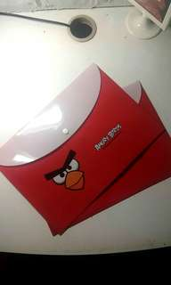 Angry bird file plastic file new
