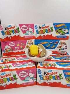 🚚 現貨 健達出奇蛋 KINDER 舊版奇趣蛋 台灣已絕版 懷念的童年味蕾