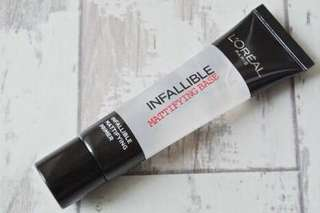 L'Oreal Infallible Mattifying Base