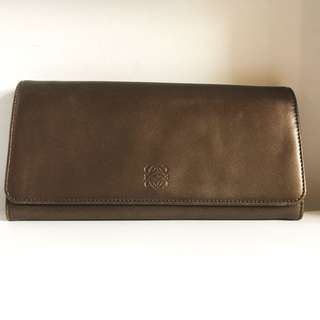 LOEWE Long Wallet (Gold)
