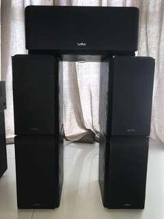 Marantz 7.1 channel 5007SR + Infinity Primus Speakers