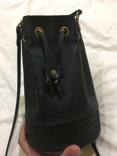 Authentic vintage Mcm small bucket bag