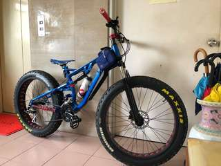 FAT FAT Bike full suspensions