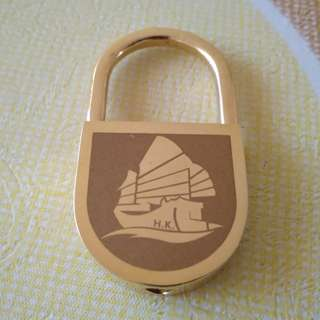 Hong Kong Traditional Junk Boat Keychain