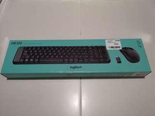 Logitech mk220 wireless keyboard and mouse