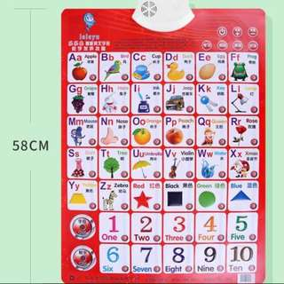 Sound Wall Chart full set infant child bump Literacy Card Baby story machine children's educational toys