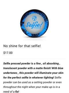 Selfie powder