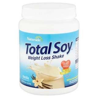 Total soy 代餐 豆奶味(全新)