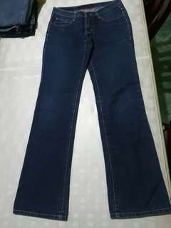 Straight cut jeans size 27