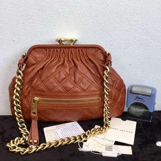Authentic MARC JACOBS Stam Poppy Chain Shoulder Bag