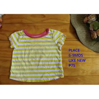 Preloved Used Clothes Top for Infant Baby Toddler Girl