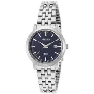 Seiko Quartz Navy Blue Dial SUR829P1 SUR829P Women's Watch
